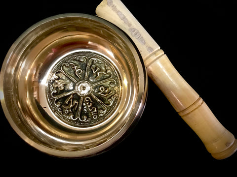 Nepal Brass 5'' Buddhist Singing Bowl
