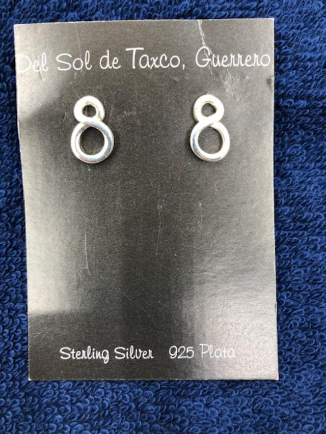 Sterling Silver earrings from Taxco, Mexico  909  Use code SAVE50 at checkout to save 50%