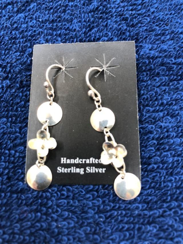 Three tier earrings in sterling silver  922  Use code SAVE50 to save 50% at checkout.
