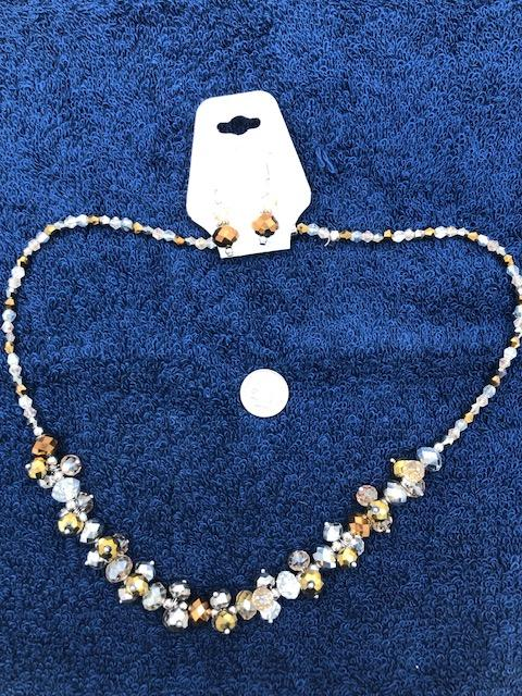 Trisha Waldron Necklace and Earrings set. TW42  Use code save50 to save 50% at checkout.
