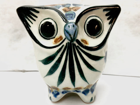 Ken Edwards Pottery Feathered Owl (KE.E31)
