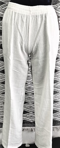 Natural Cotton pants by Azteca Lindo. 241N   Use code save50 at checkout to save 50%  Made in Mexico, top quality.