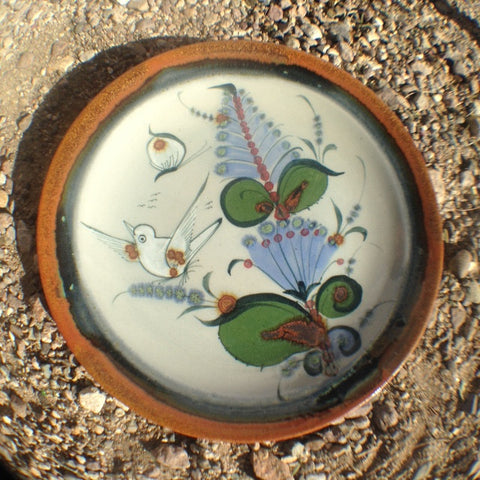 "Ken Edwards Bread Plate  7"" (P3A). Similar to photo but each plate is one of a kind."