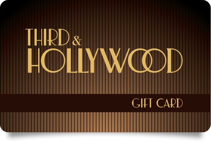 Third & Hollywood Gift Card