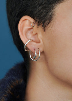 MINI CYCLE EARRING