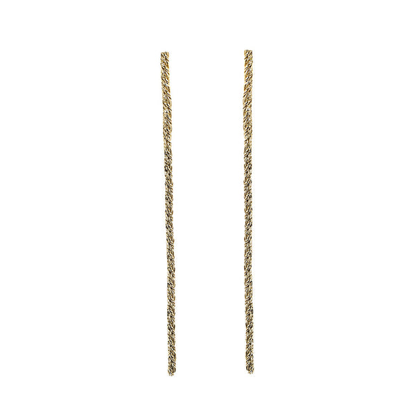 LONG ROPE EARRINGS - Ruby Star