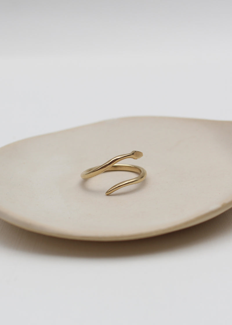 MINIMALIST SERPENT RING
