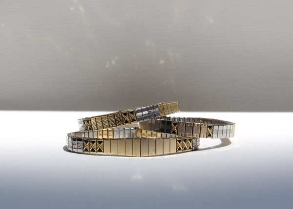 THIN X BANDS BRACELET - limited edition