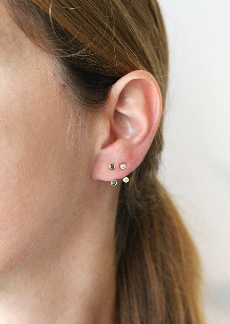GOLD MINI TINKER EARRING - Ruby Star