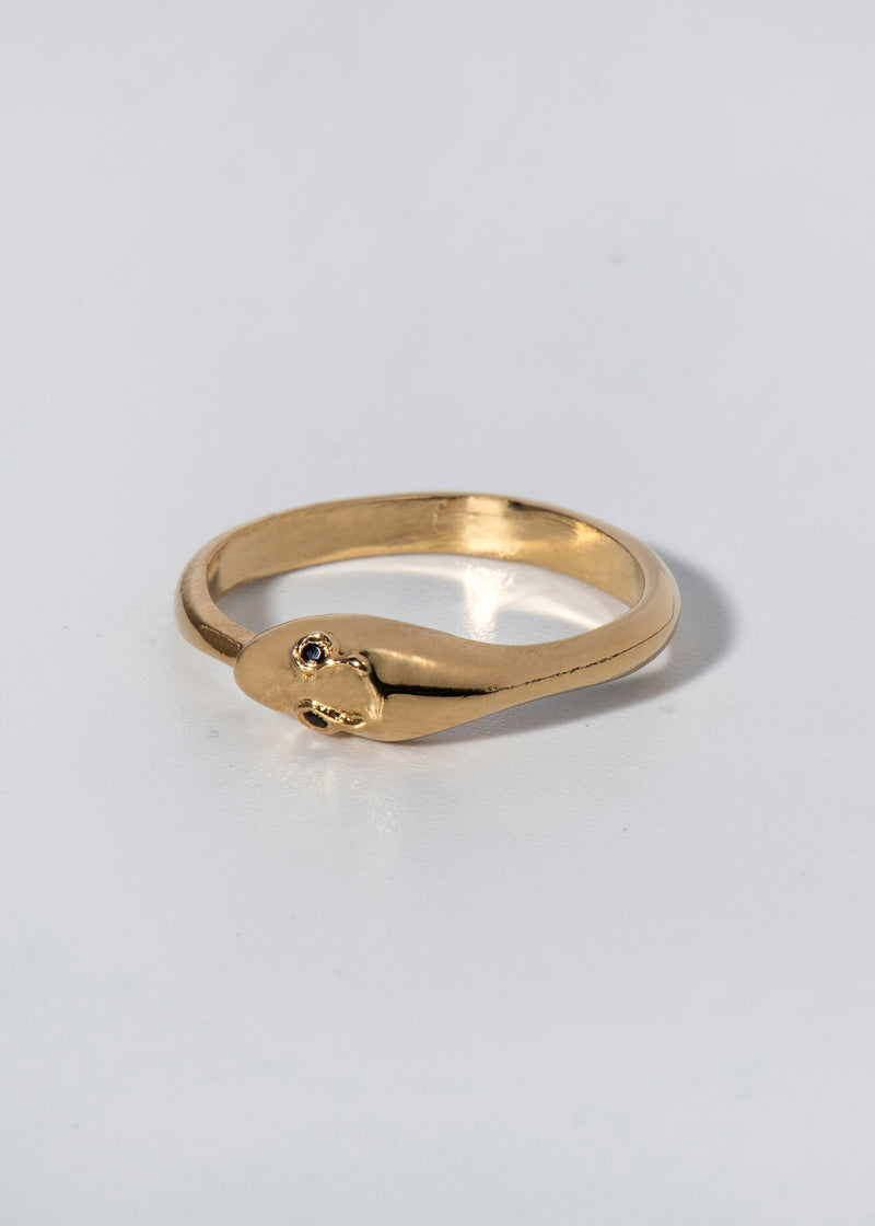 SNAKE RING - Ruby Star