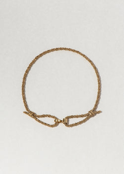 ROPE CHOKER NECKLACE - Ruby Star