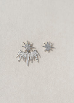 SOLAR EARRINGS - Ruby Star