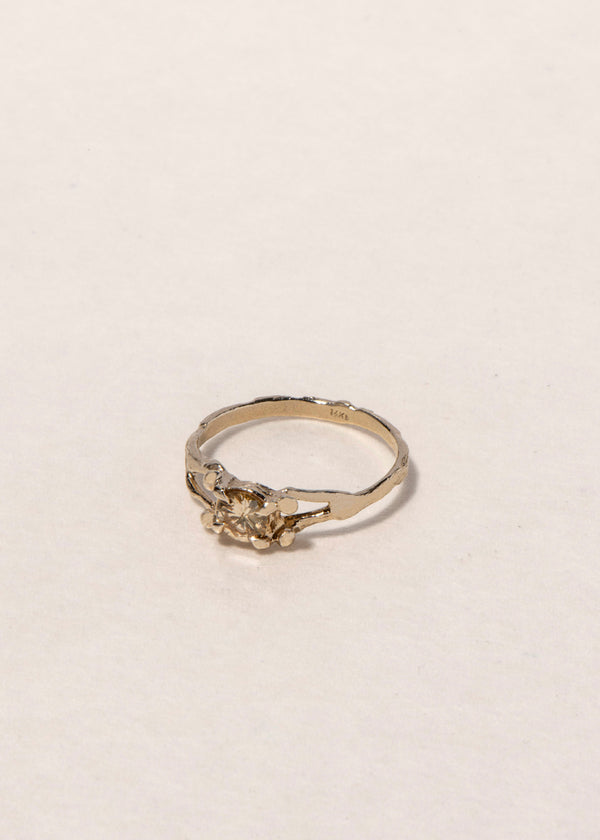 14K GOLD DIAMOND GRACE RING