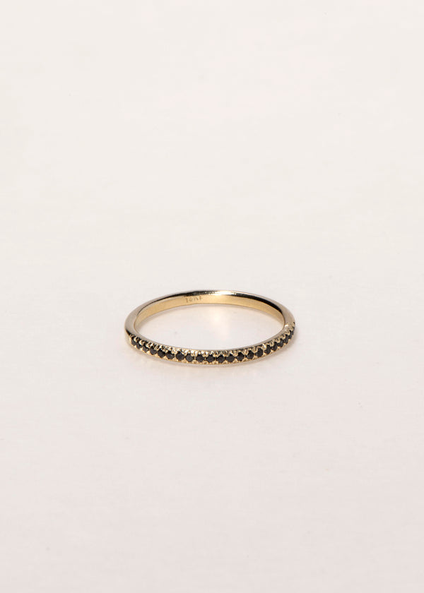14K GOLD HALF ETERNITY RING