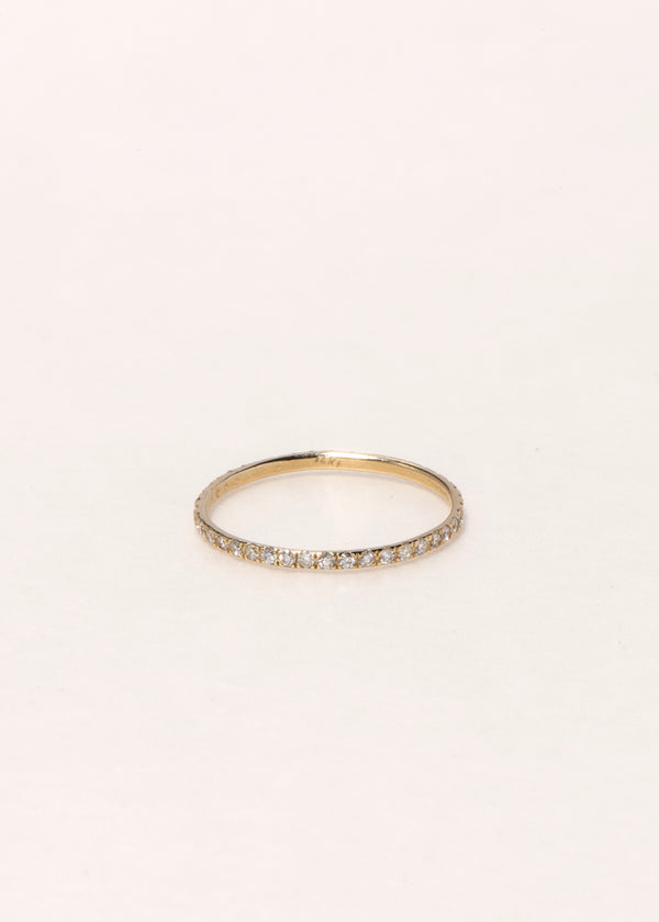 14K GOLD ETERNITY RING