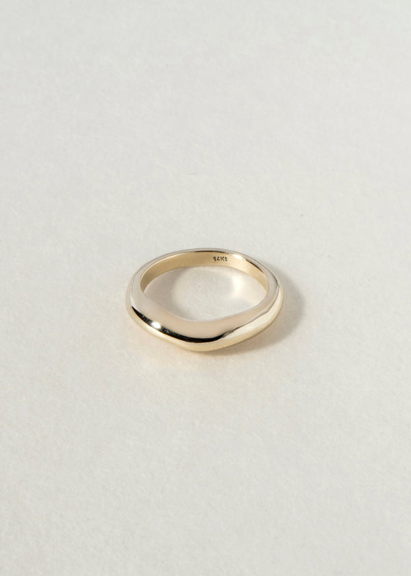 14K gold curve III RING