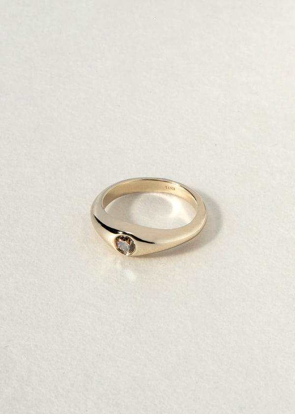 14K gold gypsy RING