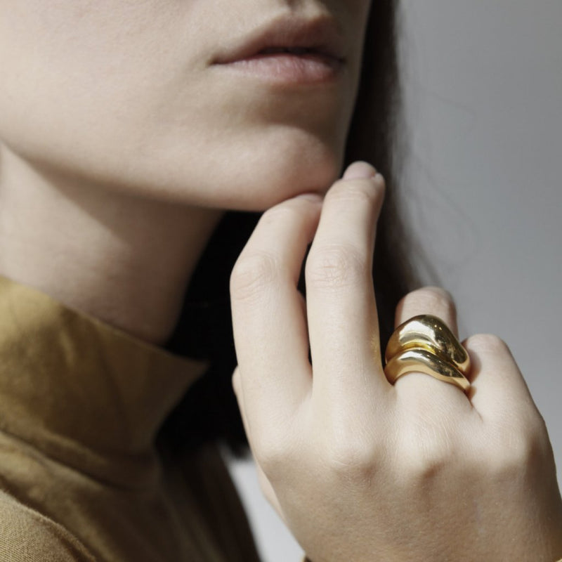 CHUNKY COIL RING