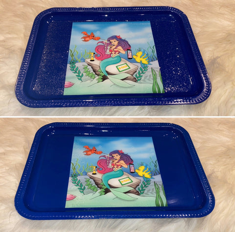 Blue Mermaid Sesh Tray