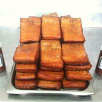 Oregon Wild Smoked Chinook Salmon - MOIST