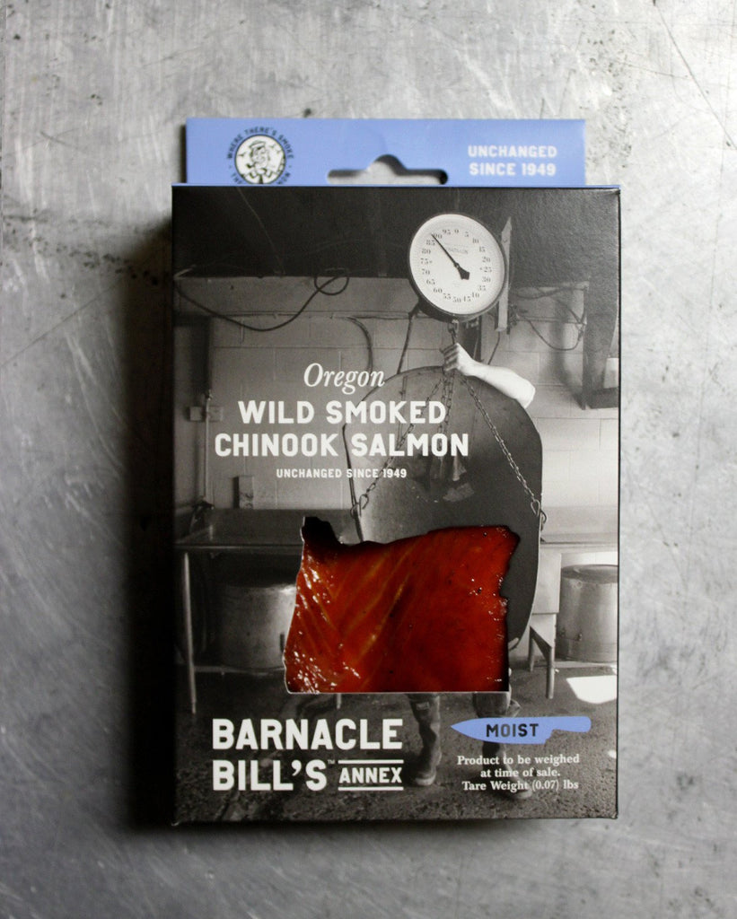 Pouched Oregon Wild Smoked Chinook Salmon - MOIST