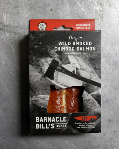 Pouched Oregon Wild Smoked Chinook Salmon- DRY