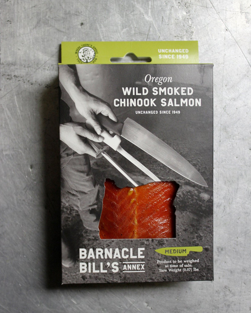 Pouched Oregon Wild Smoked Chinook Salmon - MEDIUM