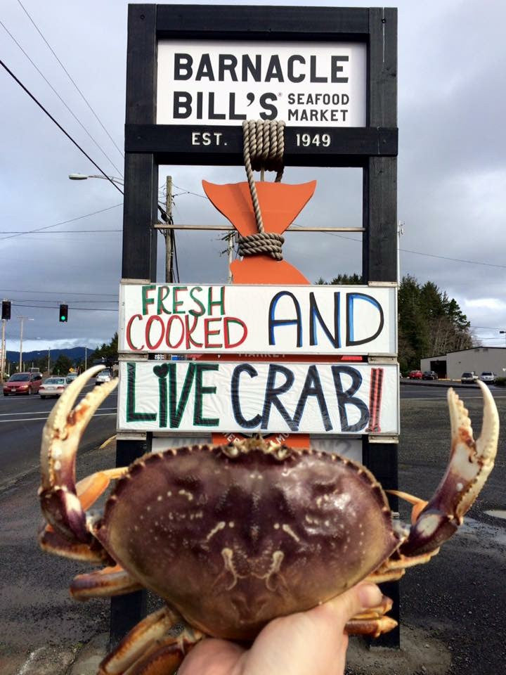 Whole Oregon Dungeness Crab