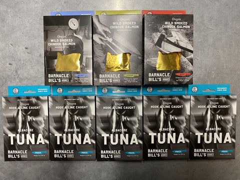Smoked Salmon And Tuna Box (Shipping Included)