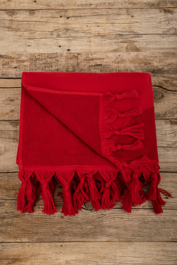 Marinero Towel - Red, TAMA