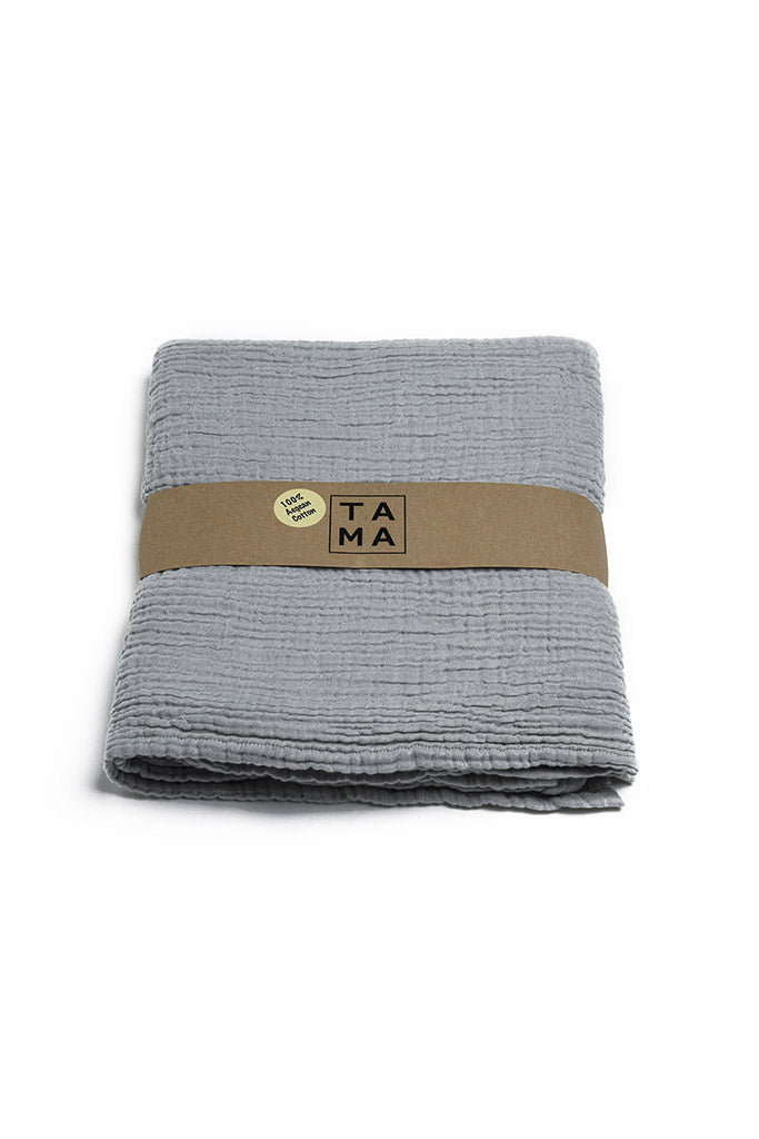 Coco Baby Blanket - Light Grey, TAMA