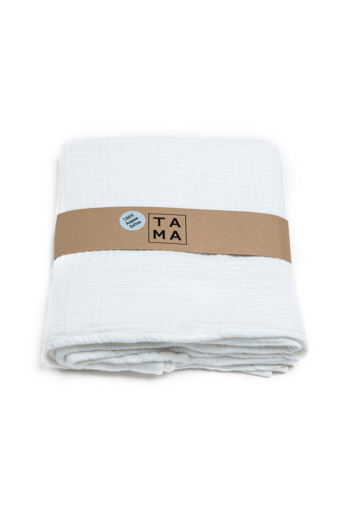 Coco Baby Blanket - White, TAMA