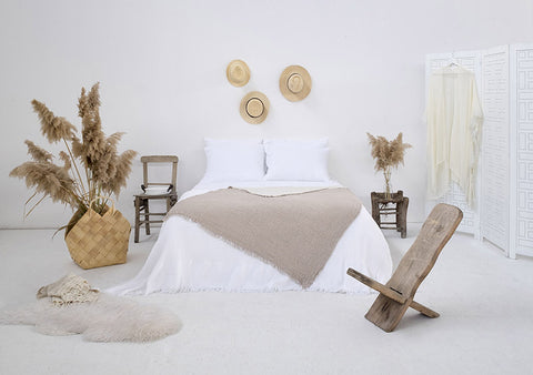Coco Bed Cover - Beige, TAMA