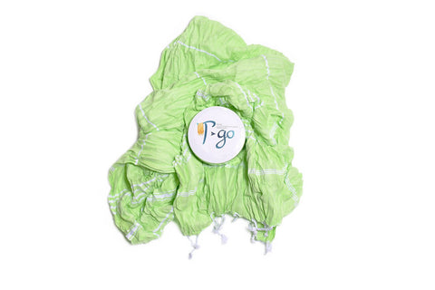 T-go Towel - Lime, TAMA