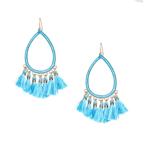 Kacey Tassel Earrings