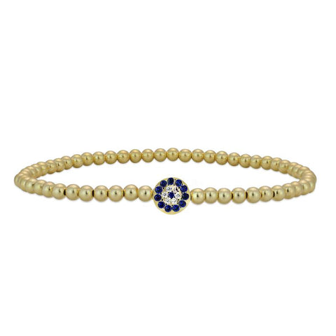 Eifram Tiny Evil Eye Bracelet