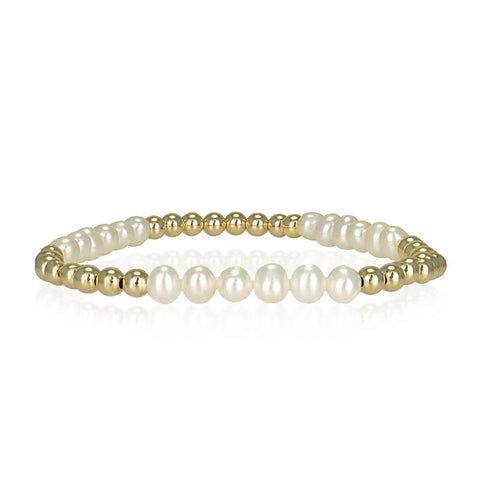 Eifram Pearl Section Bracelet