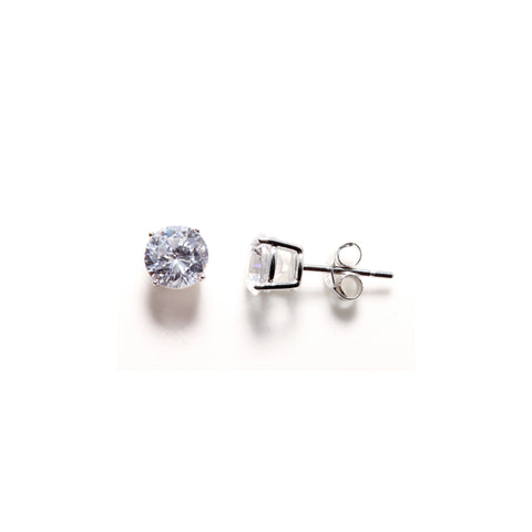 7mm Solitaire Studs
