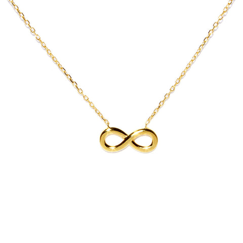 Infinity Necklace (More Metals)