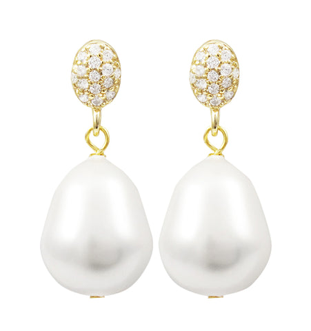 Ginny Pearl Earrings
