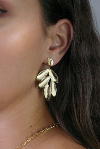 Gina Leaf Earrings