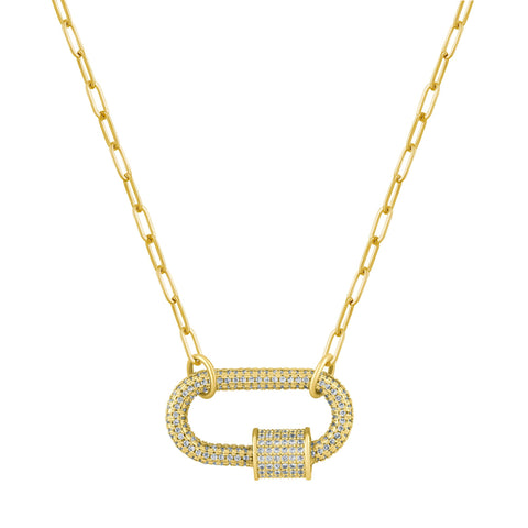 Afterglow Pave Necklace