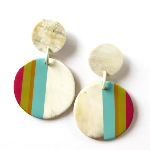 Seaside Stripe Earrings