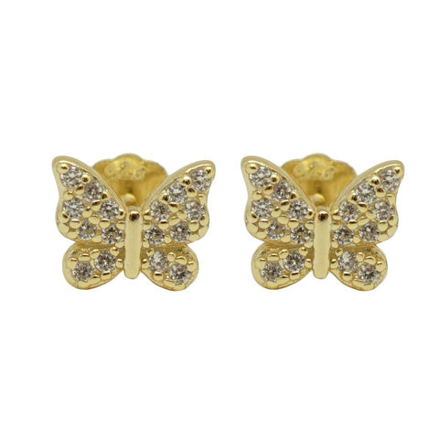 Mini Butterfly Studs (More Metals)