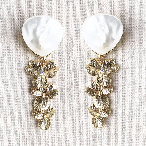 Golden Garland Earrings