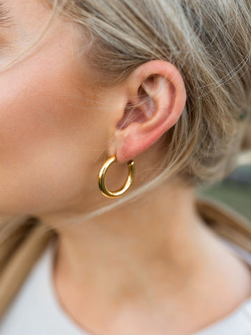 Farrah Chunky Hoops - Medium