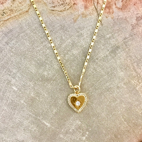 Amanda Heart Necklace