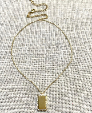 Brentwood Tag Necklace