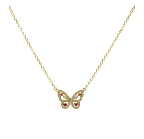 Tulum Butterfly Necklace