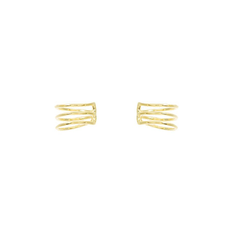 Triple Row Ear Cuffs